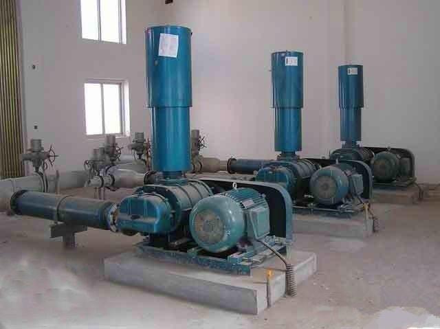战尔风机--污水处理厂安装